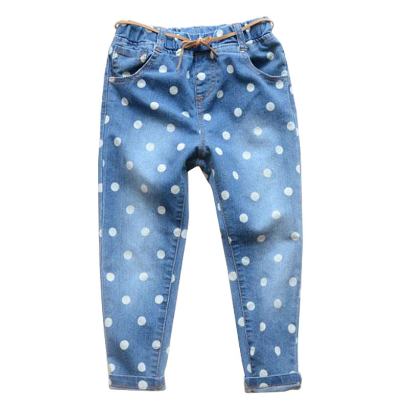 Retails 2015 NEW Children pants thick winter kids pants boys girls spring jeans