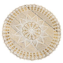handmade crochet round doilies Pineapple flower lace Tea tableCloth holiday supplies doily home textile decor[Can custom]50% OFF(China (Mainland))