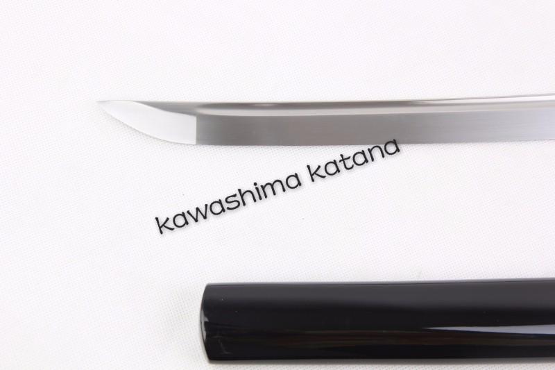 Buy Handmade Samurai Sword Katana Full Tang Sharp Edge Carbon Steel No Tsuba Small Knife Inside cheap