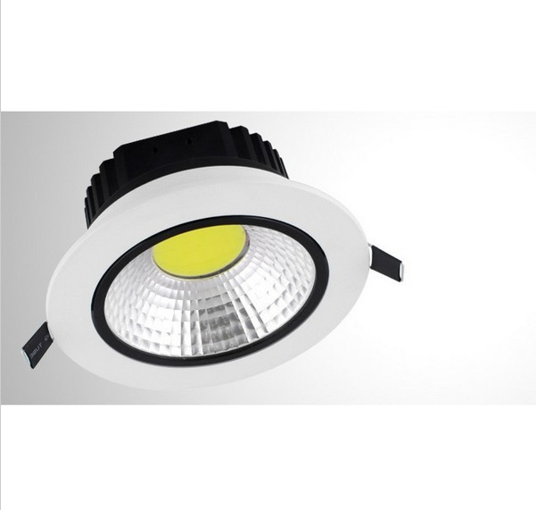 2013 Newest 10W COB Dimmable Led Downlights Cool/Warm White Ceiling Lights Energy Saving Lamp 85-260v, - Online Store 227455 store
