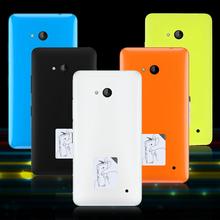 For Microsoft Lumia 640 Dual SIM OEM Battery Door Back Housing Phone Cover for Microsoft Lumia 640 Dual Sim / 640 LTE Dual Case(China (Mainland))