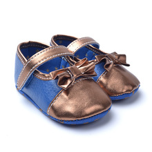 New Fashion Newborn Baby Moccasins shoes Bowknot  Baby First Walkers Flower LeopardSoft Soled Anti-slip Shoes Various Styles(China (Mainland))