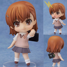 Anime Misaka Mikoto Action Figure Collectible Hand Model Doll Figure Toy w