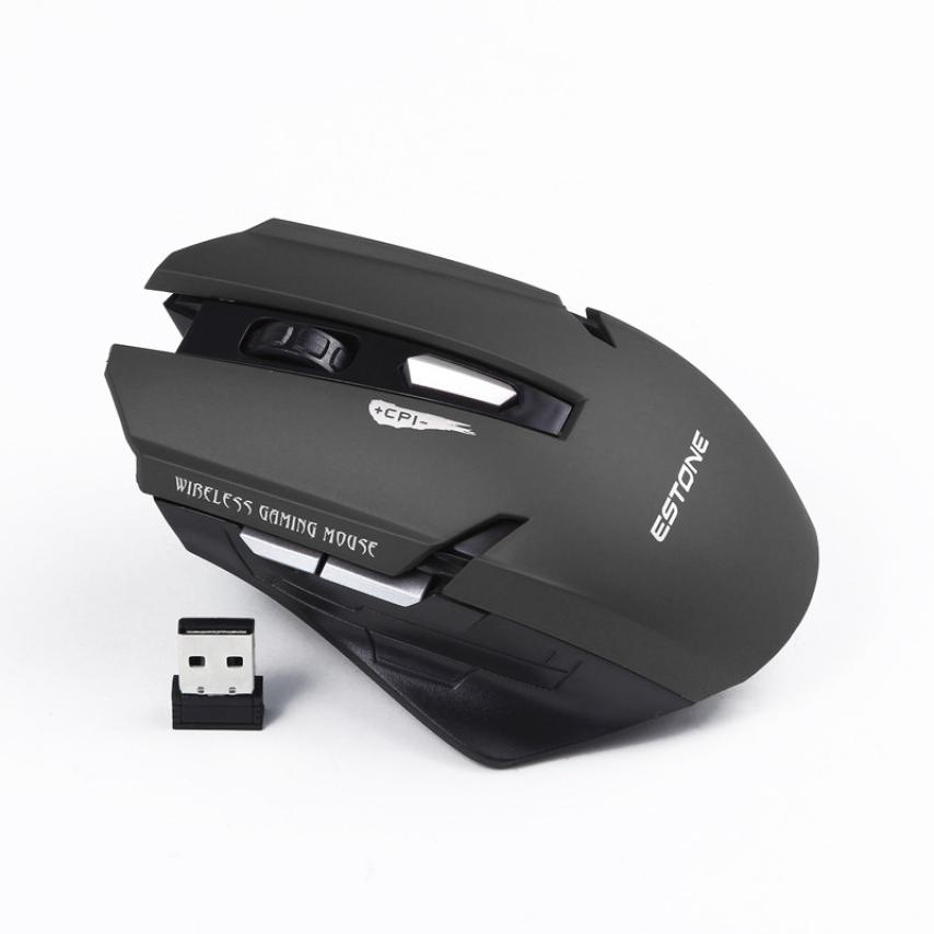 Malloom 2016 Professional Mini USB 2.4GHz 6 Keys Optical Wireless Gaming Mouse Sem Fio Mice For PC Laptop Computer Panic Buying(China (Mainland))