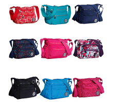 2016 New Waterproof Nylon women messenger bags high quality Kippled Style Casual Clutch Carteira Female Travel