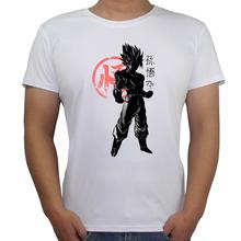 Buy Son Goku Printing Tee Men's Fashion T-shirt Japan Anime Dragon Ball T Shirt Super Saiyan Tshirts Hipster Hot Tops Men Clothing for $7.73 in AliExpress store