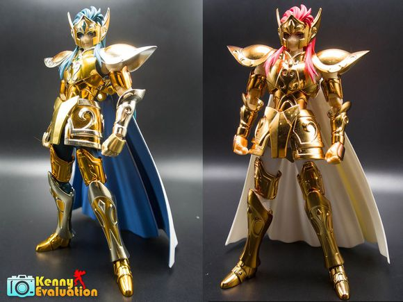 In-Stock / Saint Seiya /TOYZONE TZ model /Galaxy  Horoscopes Myth EX Gold Saint  Aquarius Camus OCE color Full metal armor