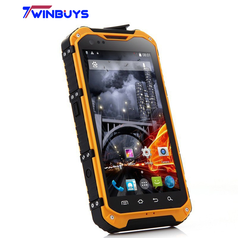 2014 IP68 A9 waterproof phone MTK6582 Quad core android 4.2 GPS 1G 8G 3G NFC OTG Cellphone Dustproof shockproof 5M mobile phone(Hong Kong)
