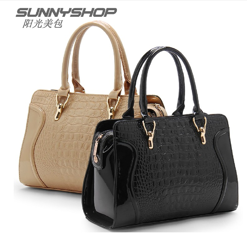 Women's handbag mother bag quinquagenarian bags cross-body shoulder bag portable handbag women's(China (Mainland))