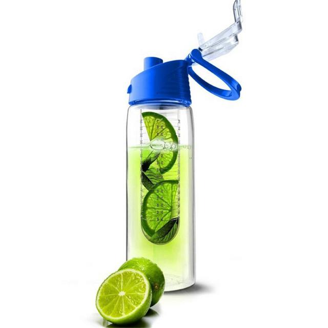 Мода 701 мл - 800 мл плоть фрукты для заварки настаивая бутылки воды спорт здоровье лимонный сок делают велоспорт кемпинг кубок