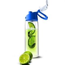 Fashion 701ML-800ML Flesh Fruit infuser infusing Water Bottle Sports Health Lemon Juice Make Bottle Cycling Camping Cup(China (Mainland))
