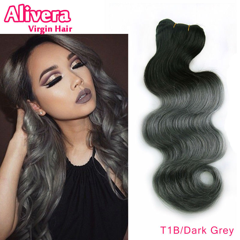 Mixed Gray Weave Human Hair Curly Short Hairstyle 2013