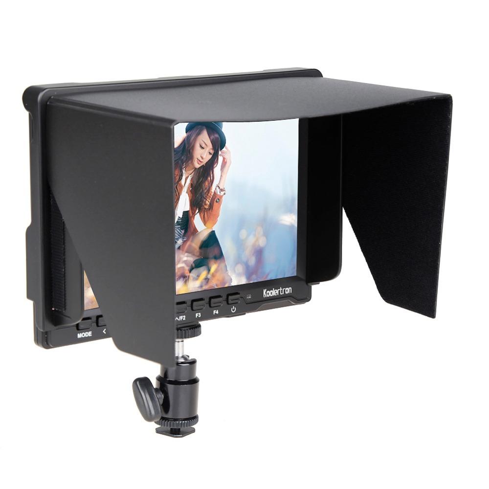 7 Slim HD IPS 1280*800 Camera Field Monitor 1080P for BMPCC/GH4/A7S,for Canon 5D Mark III/5D Mark II,for Nikon D810/D7000<br><br>Aliexpress