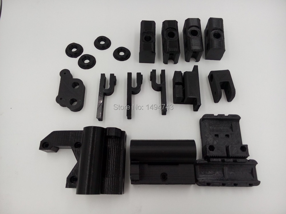 RepRap Prusa Mendel i3 PLA plastic Parts Kit DIY Prusa i3 Acrylic frame 3D Printer printed parts(China (Mainland))