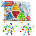 Magical Plastic Insert Beads Children Learning Toy Different Shaped Model Building Educational Toy Assemble Toy Fast