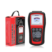 Autel EBS-301brake service tool EBS301 code scanner update via internet EBS 301 car diagnostic tool(China (Mainland))