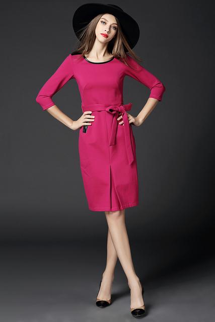 Moda de la calle de la mujer elegante para mujer de la oficina de trabajo OL