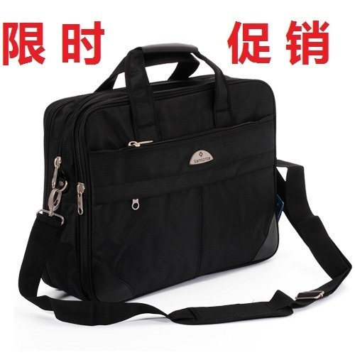 Tidal current male 2013 portable laptop bag one shoulder commercial briefcase messenger travel bag travel package(China (Mainland))