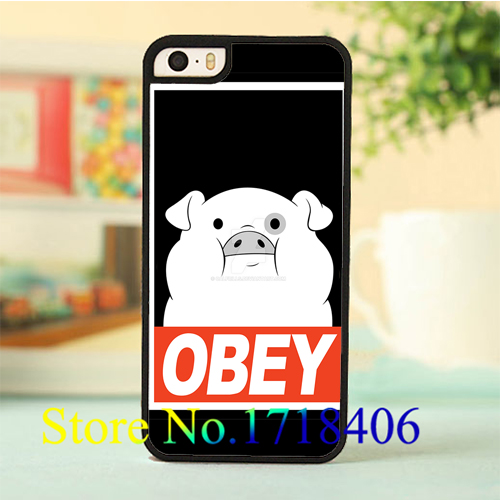 gravity falls waddles 10 cell phone case cover for iphone 4 4s 5 5s 5c SE 6 6s & 6 plus 6s plus *E61E(China (Mainland))