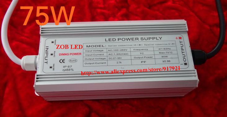 75w led driver DC54V,1.5A,high power led driver for flood light / street light,constant current drive power supply,IP65<br><br>Aliexpress