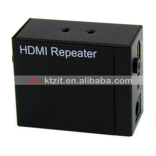 HDMI 1080P Power Amplified Repeater,Free Shipping(China (Mainland))