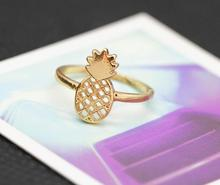 New Fashion jewelry Hollow cute Refinement pineapple nice gift for women girl j-066