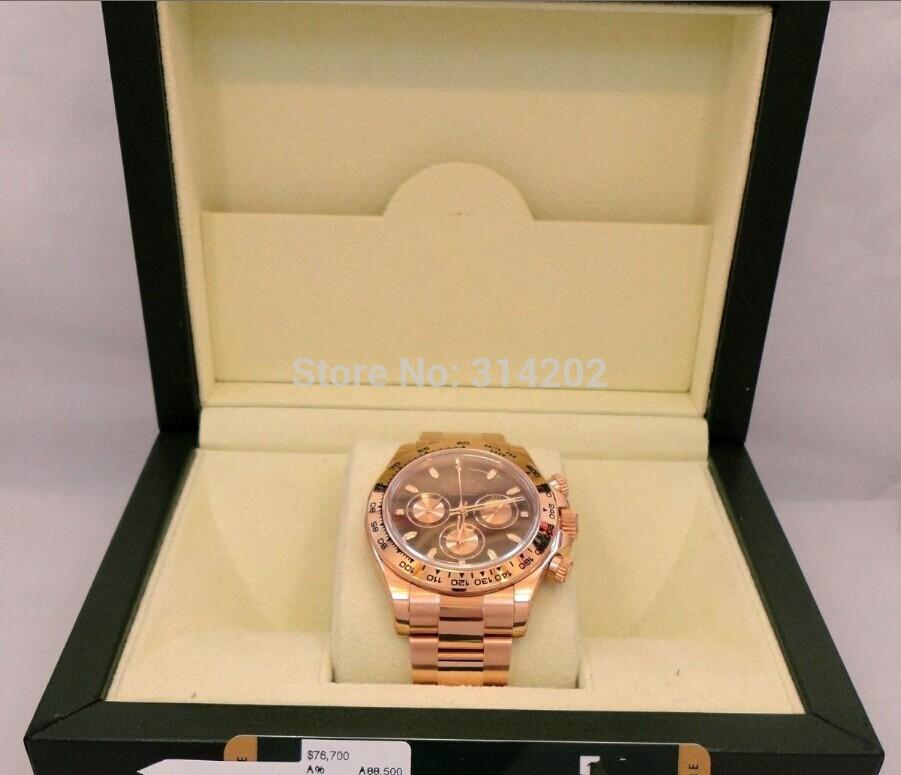 Factory Supplier Sapphire original box BRAND DAYTONA COSMOGRAPH 116505 Automatic Mens Men's Watch Watches(China (Mainland))
