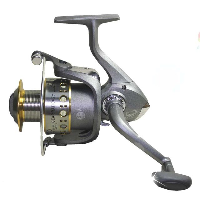 Alloy head line cup big game fishing spinning reel wheel for Big game fishing reels