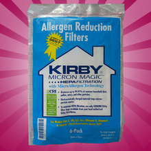 Buy 6 CLOTH Sentria Hepa Micron Magic U G Kirby Vacuum Bags NEW OEM SEALED PRODUCT!! for $20.00 in AliExpress store