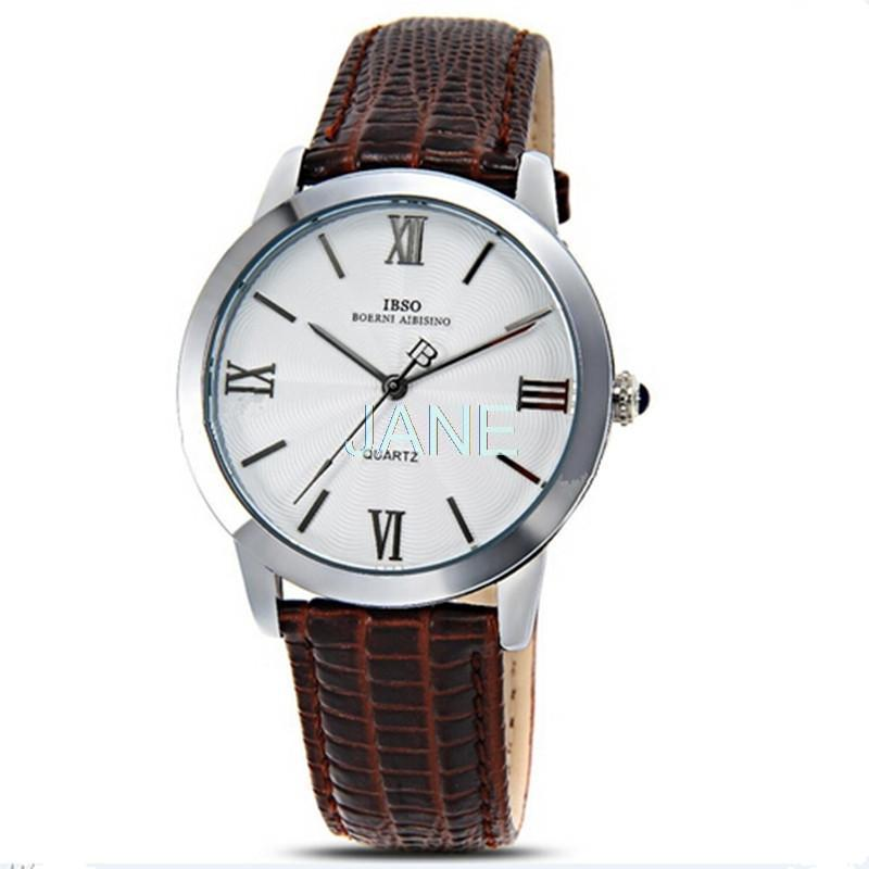 IBSO 3801 Men s Quartz Watch Large Round Dial Analog Wrist Watch with Waterproof Men Watches