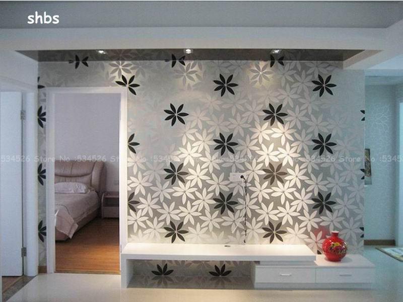 Bloemen muurschilderingen koop goedkope bloemen muurschilderingen loten van chinese bloemen - Muur kamer meisje ...