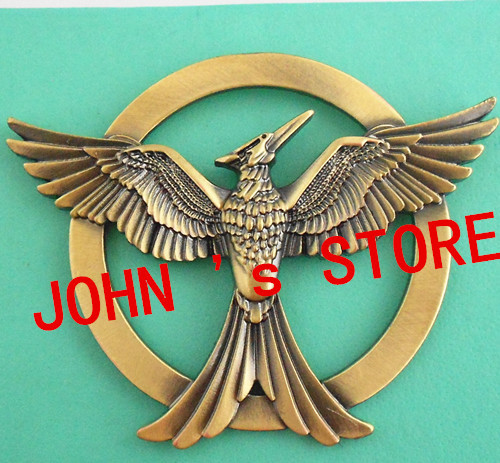 Freeshipping 50pc a lot The Hunger Games brooch New style high qaulity INOINO02<br><br>Aliexpress