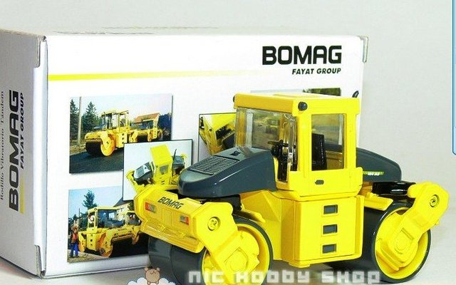 BOMAG BW184ADVibratory Asphalt Compactor w/Closed Cabin toy