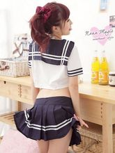 Free Shipping cosplay Classic school wear sexy underwear set sexy student clothing sailor suit(China (Mainland))