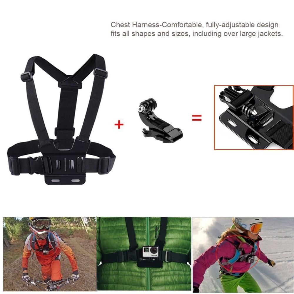 Xiaomi Yi 2/4K Accessories Kit, Kupton 4K II Waterproof Housing Case+ Head Strap+ Car Suction Cup+ Bike Handlebar Mount….