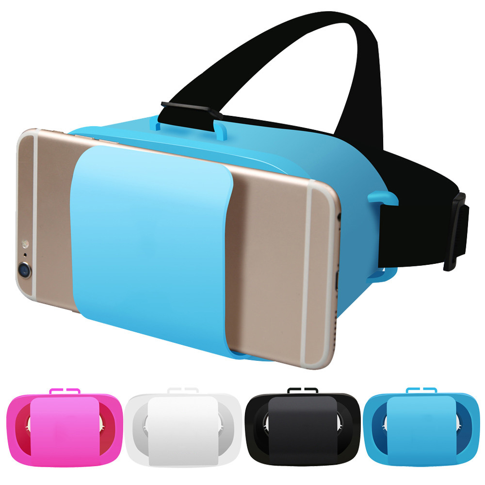 3D VR Case Mini VR BOX 3D Glasses Immersive Virtual Reality For 4.5-5.5 inch SmartPhone 3D Movie 3D Game Gift Sport Glasses(China (Mainland))