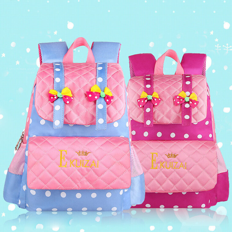 2015 New Fashion Cute Bowknot Princess Girl Backpack Little Baby Girls Kids School bags - Online Store 426955 store