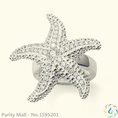 Starfish Ring Thomas Style Glam And Soul Good Jewerly For Men And Women 2015 Ts Gift In silver-plated(China (Mainland))