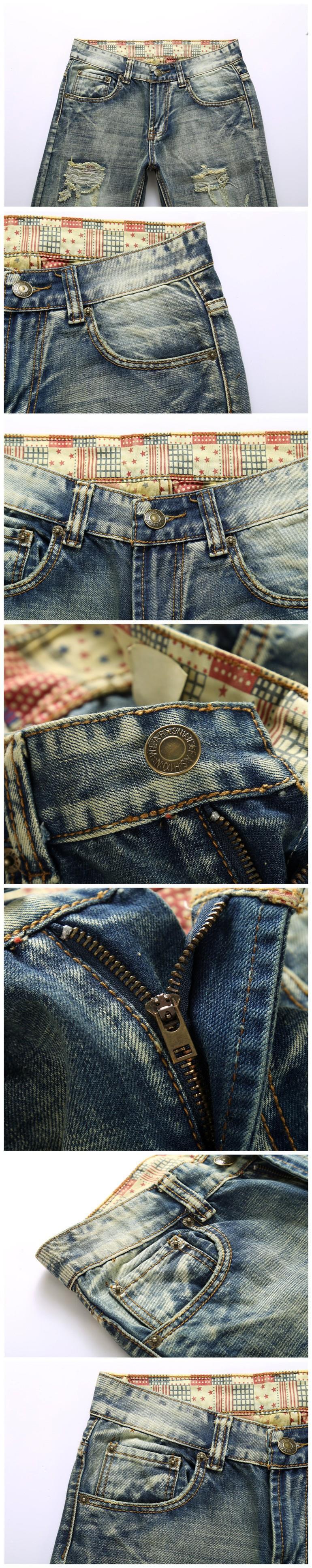 Скидки на MOGE мужчины рваные джинсы хлопок моды джинсы rasgado джинсы мужчины хип-хоп жан homme марки de luxe вакеро hombre marca famosa