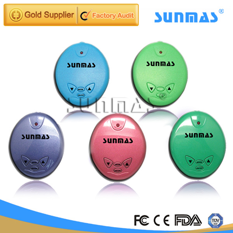 Sunmas Tens Massager Health Care Sleep Aid Multifunction Home Use Acupuncture Stimulator Body Massager Digital Therapy Machine(China (Mainland))