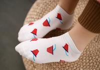 5 Pattern New Arrival Direct Selling Minion Socks  Women Three-dimensional Cartoon  Calcetines Character Meias women's socks.