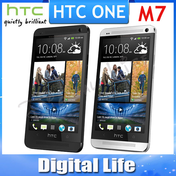 Original HTC ONE M7 801e GPS WIFI 4.7''TouchScreen 4MP camera 32GB Internal Unlocked Cell Phone(China (Mainland))
