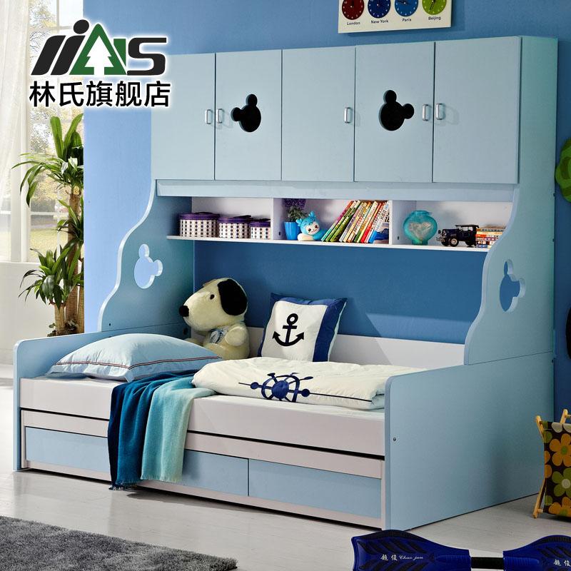 Promoci n de camas de almacenamiento compra camas de - Cama doble para ninos ...