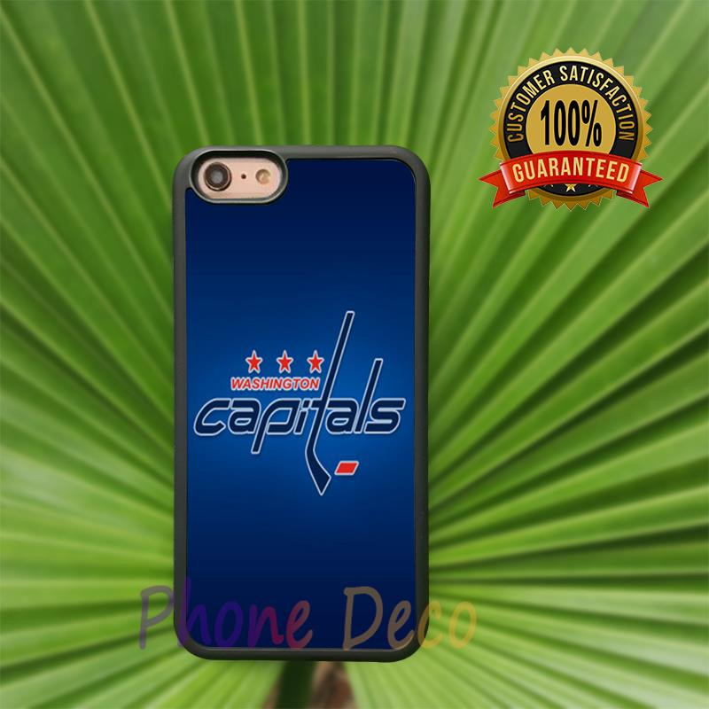 Washington Capitals fashion cell phone cases for iphone 4 4s 5 5s 5c 6 6s 6plus 6splus B4801(China (Mainland))
