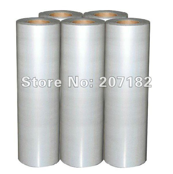 0.5 x 5M Silver Color Reletive Heat Transfer Vinyl,Cutting Plotter Film, Heat Transfer Film(China (Mainland))