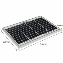 Newest 10W Watt polyCrystalline Cells Solar Panel 12V poly solar module Battery Charger Low Price Promotion Price(China (Mainland))