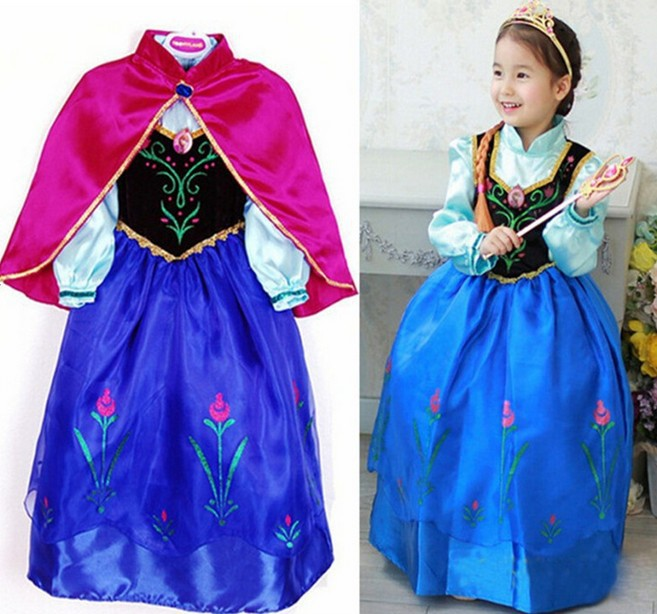 2018 hot sales princess sisters halloween costumes kits for kids cosply fantasia infantil fairy party dress costumes from comely2015 2914 dhgatecom