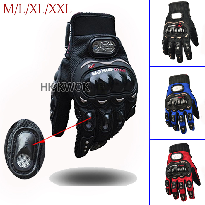Pro-biker Authentic Motorcycle Riding Auto Engine Protection Guantes Full Finger Protective Luvas Racing Cycling Sport Gloves P3(China (Mainland))