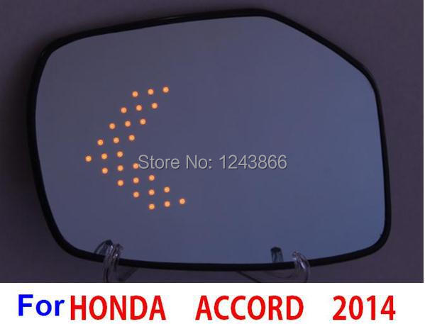 Multi-curvature car rear view mirror  heated anti glare blue wide angle rearview led turn signal side mirrors for 2014 accord<br><br>Aliexpress