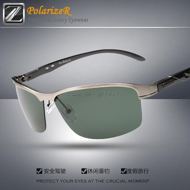 NEW Polarized Sun glasses for men outdoor solar point green sunglases brand designer goggles polarizado lunette de soleil GS6266(China (Mainland))